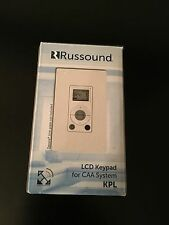 NEW White Russound KPL Keypad For CAA66/ CAS44 Controller Amplifiers