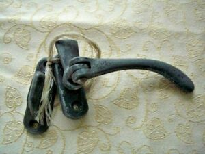 Re-Claimed - 1 window casement arm stay fastener & 1 x latches