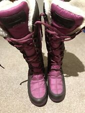 Pink Timberland Waterproof Snow Boots Size 4