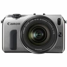 Near Mint! Canon EOS M with EF-M 18-55mm IS STM Silver - 1 year warranty