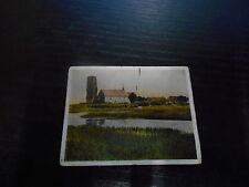 zigarettenbilder: Die Inselkirche Bild Nr. 20 Bilderreihe AUF DEUTSCHER SCHOLLE