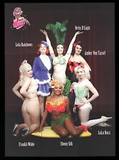COMPLETE CHASE SET 2012 Cult-Stuff - Art of Burlesque - Chase 1-10