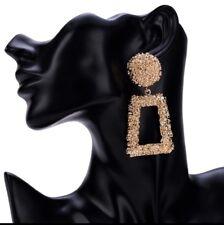 Zara Design Golden Raised Luxury Boho Vintage Earrings