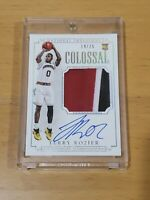 2015 National Treasures Terry Rozier RC Auto SSP /25 True RPA 3 Color Patch
