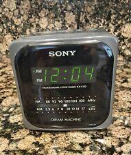 Vintage Sony Dream Machine Cube AM/FM Clock Radio
