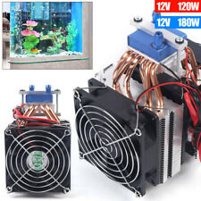 120/180W Thermoelectric Cooler Water Chiller Fish Tank Refrigerator Kit 10A
