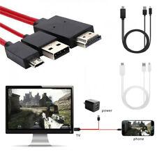 USB C Micro-USB to HDMI 4K Cable HDTV TV Digital AV Adapter for Samsung