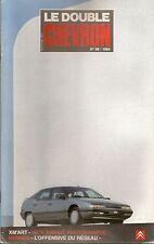 LE DOUBLE CHEVRON 98 CITROEN XM PROTOTYPE CITROEN TRACTION 22 V8 CABRIOLET 1934