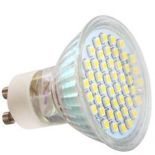 4 x GU10 LED BULBS WITH 48 x 3528 SMD SPOT LIGHT DAY WHITE X7H3