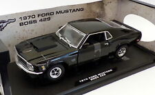 MotorMax 1/18 Scale Model Car 73154TC - 1970 Ford Mustang Boss 429 - Black