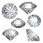AUTHENTIC Faceted Herkimer Diamonds GENUINE from NY AAA - 4,5,6,7,8,9,10mm Round