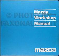 1992 Mazda 626 and MX 6 Original Repair Manual 92 MX6