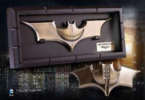 DC BATMAN DARK Knight BATARANG 1:1 PROP REPLICA Statue Bust The NOBLE Collection