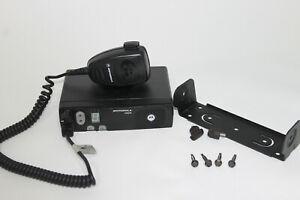 Motorola CM340 UHF 438 – 470 MHz10 Kanäle Taxifunk Mietwagen Halterung Mikrofon