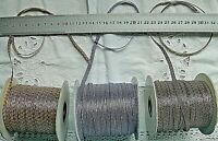 Metallic Elastic Ribbons 5 & 10 Met + 3x5 Variety Pk 6mm Wide 4 Pk Choice CR14