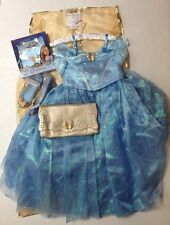 NWT Disney Store Limited Edition Sz 8 Cinderella Live Action Costume & Shoes Set