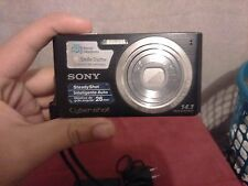 Sony Cyber-shot DSC-W610 14.1MP Digital Camera - Black