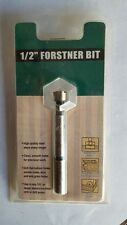 "New in Sealed Package  1/2"" Woodworking Forstner Bit"