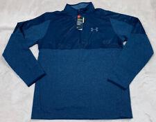NWT'S Under Armour ColdGear Infrared Fleece Pullover ¼ Zip Jacket Men's SZ L