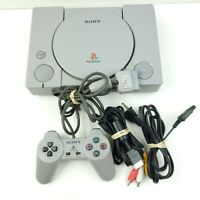 Sony Playstation 1 PS1 Console  with Cables Original Controller SCPH-9001