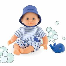 Corolle Mon Premier Poupon Bebe Bath Boy Toy Baby Doll, NRFB