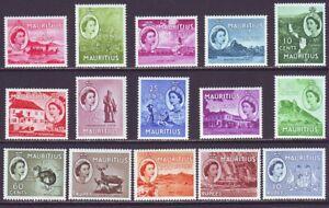 Mauritius 1953 SC 251-265 MH Set
