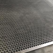 Streckgitter Stahl Lochblech  Hexagonal 1,5mm HV6-6,7 300 mm x 300 mm Neu Gitter