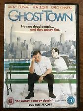 Ricky Gervais GHOST TOWN ~ Haunted Dentist Supernatural Comedy UK Rental DVD
