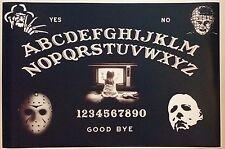 """OUIJA BOARD HORROR FULL SIZE 24"""" x 36""""  FREDDY MICHAEL MEYERS POSTER Halloween"""