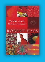 Time & Materials  Poems 1997-2005 Robert Haas Signed HC 1st Edition, 1st Pr Book