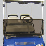 Club Car DS (82-00.5) Tinted Folding Golf Cart Windshield - US Made