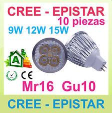 x1 Regulable lampara LED mr16 gu10 9w 12w 15w CREE Epistar - excelente calidad!