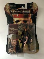 "Captain Jack Sparrow ~ Pirates of Caribbean 4"" Action Figure by Zizzle 2006 New"