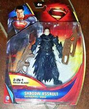 "Superman Man of Steel: SHADOW ASSAULT GENERAL ZOD 4"" Figure w/2-in-1 Mega Blade!"
