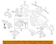 Infiniti NISSAN OEM 14-16 Q70 Instrument Panel Dash-Hole Cover 684921MA0B
