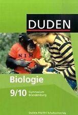 Duden Biologie - Gymnasium Brandenburg: 9./10. Schuljahr...   Buch   Zustand gut
