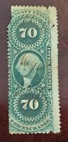 US Revenue Stamp Collection Scott # R65c - Used