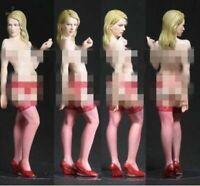 1/35 Resin Figure Model Kit Sexy Girl Female in Stockings Unassambled Unpainted