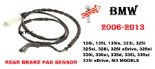 06-13 BMW 128i 135i 323i 325i 328i 330i 335i M3 Rear Brake Pads Sensor GENUINE