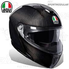 """Agv Sportmodular tricolore Matt Carbon/italy """"peso 1 295 Gr."""" XL"""