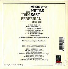 JOHN BERBERIAN music of the middle east CD Akarma w/mini-LP sleeve Eastern Psych