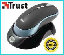 Mouse wireless trust ottico laser 5 bottoni ricaricabile pc usb e ps2 1200 DPI