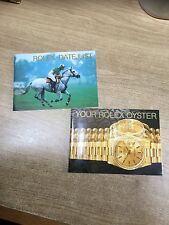 Rolex Watch Booklet 1997 Set 2 Booklets