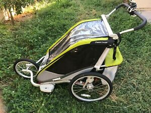 Thule Chariot Cougar 2 - the Mercedes of sports strollers! All accessories!