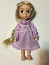 "Disney Animators Rapunzel Tangled Doll 1st Edition Sparkle Tinsel Hair Gown 16"""