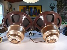 Audiophile Pair of Vintage 12� 2-Way Jensen Coaxial Alnico Woofer 16ohm Speakers