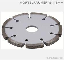 1x115mm CEDIMA Mörtelräumer // engverzahnt // Bohrung 22,23mm