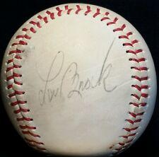 1970s LOU BROCK Signed Baseball St Louis Cardinals Team HOF vtg Al Hrabosky auto