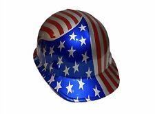 American Flag Hard Hat Helmet Safety Helmet Stars And Stripes Morsafe Jackson