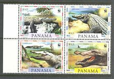 REPTILES: CROCODILES, WWF ON PANAMA 1997 846, MNH